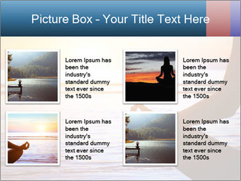 Yoga PowerPoint Template - Slide 14