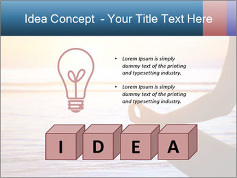 Yoga PowerPoint Template - Slide 80