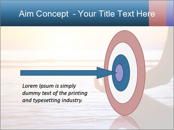 Yoga PowerPoint Template - Slide 83