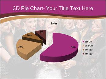 Beautiful women PowerPoint Templates - Slide 35