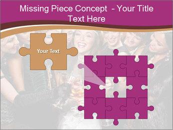Beautiful women PowerPoint Templates - Slide 45