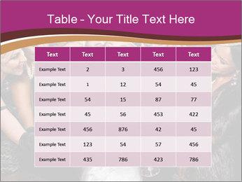 Beautiful women PowerPoint Templates - Slide 55