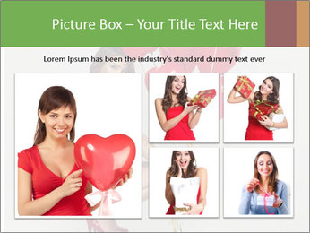 Sexy brunette PowerPoint Templates - Slide 19