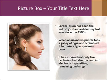 Beautiful Model PowerPoint Template - Slide 13