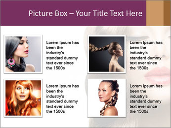 Beautiful Model PowerPoint Template - Slide 14