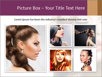 Beautiful Model PowerPoint Template - Slide 19
