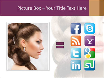 Beautiful Model PowerPoint Template - Slide 21
