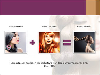 Beautiful Model PowerPoint Template - Slide 22