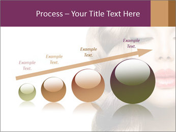 Beautiful Model PowerPoint Template - Slide 87