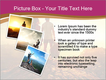 Hikers with backpacks PowerPoint Templates - Slide 17
