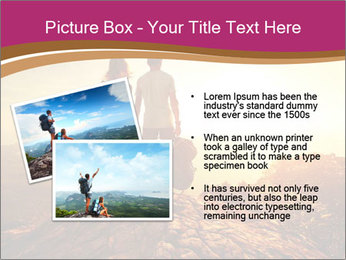 Hikers with backpacks PowerPoint Templates - Slide 20