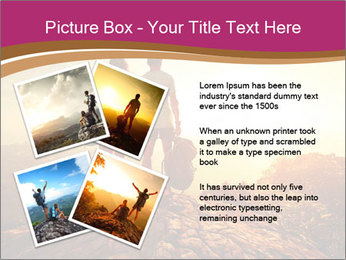 Hikers with backpacks PowerPoint Templates - Slide 23