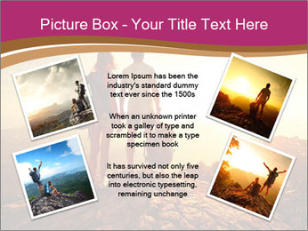 Hikers with backpacks PowerPoint Templates - Slide 24