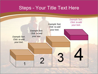 Hikers with backpacks PowerPoint Templates - Slide 64