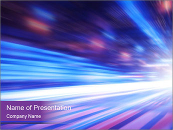 Abstract PowerPoint Template - Slide 1