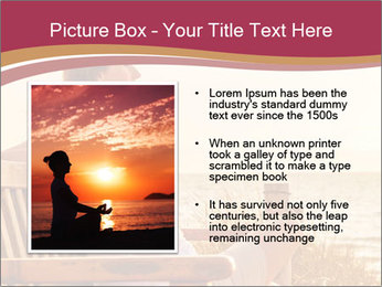 Relaxing female PowerPoint Templates - Slide 13
