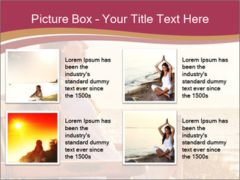 Relaxing female PowerPoint Templates - Slide 14