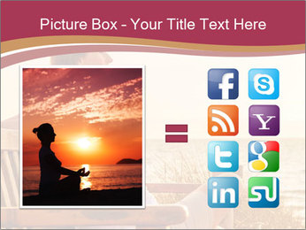 Relaxing female PowerPoint Templates - Slide 21