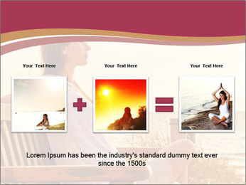 Relaxing female PowerPoint Templates - Slide 22