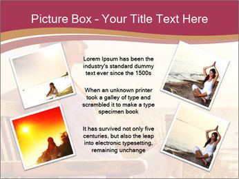 Relaxing female PowerPoint Templates - Slide 24