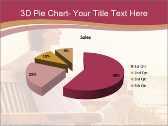 Relaxing female PowerPoint Templates - Slide 35