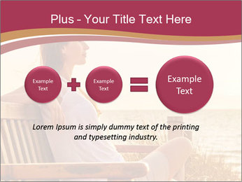 Relaxing female PowerPoint Templates - Slide 75