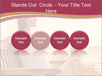 Relaxing female PowerPoint Templates - Slide 76