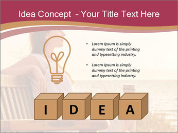 Relaxing female PowerPoint Templates - Slide 80