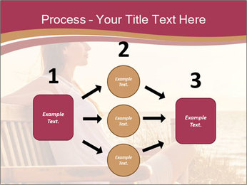 Relaxing female PowerPoint Templates - Slide 92