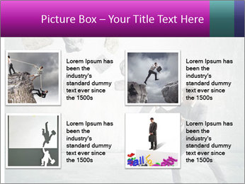 Business man protects PowerPoint Templates - Slide 14