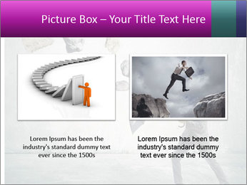 Business man protects PowerPoint Templates - Slide 18