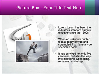 Business man protects PowerPoint Templates - Slide 20