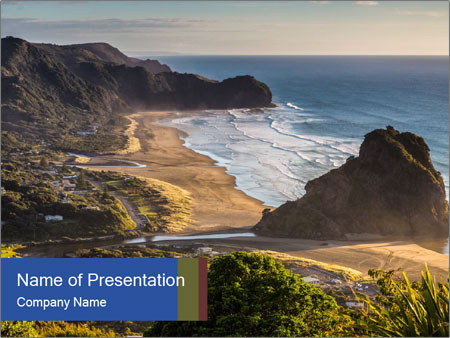 New Zealnd PowerPoint Template