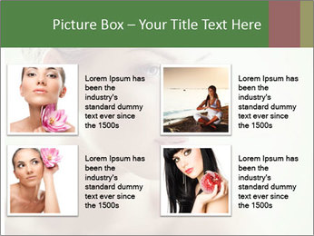 Beauty portrait woman PowerPoint Template - Slide 14