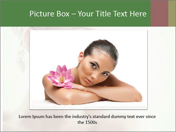 Beauty portrait woman PowerPoint Template - Slide 15
