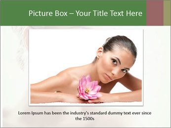 Beauty portrait woman PowerPoint Template - Slide 16