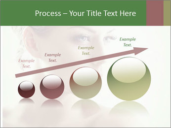 Beauty portrait woman PowerPoint Template - Slide 87