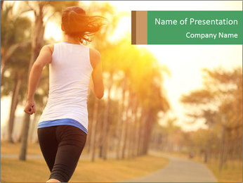 Healthy lifestyle PowerPoint Templates - Slide 1