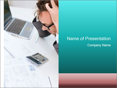 Stress concept PowerPoint Templates