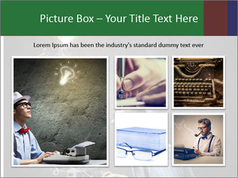 Young funny man PowerPoint Template - Slide 19