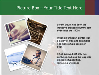 Young funny man PowerPoint Template - Slide 23