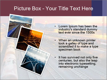 Station at dusk PowerPoint Template - Slide 17