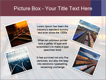 Station at dusk PowerPoint Template - Slide 24
