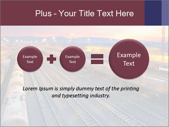 Station at dusk PowerPoint Template - Slide 75