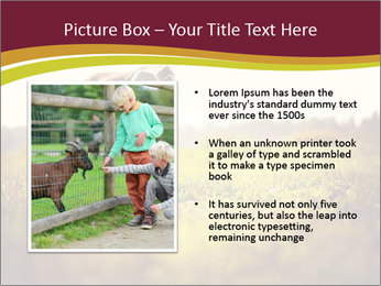 A cute girl in jockey boots PowerPoint Template - Slide 13