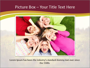 A cute girl in jockey boots PowerPoint Template - Slide 16