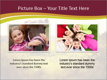 A cute girl in jockey boots PowerPoint Template - Slide 18