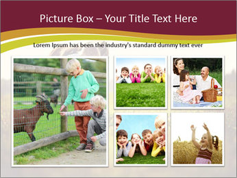 A cute girl in jockey boots PowerPoint Template - Slide 19