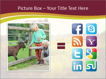 A cute girl in jockey boots PowerPoint Template - Slide 21
