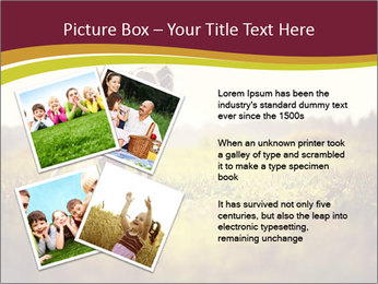 A cute girl in jockey boots PowerPoint Template - Slide 23